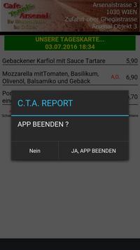 CAFE TENNIS ARSENAL REPORT screenshot 1