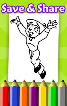 Chhota Coloring Book for Bheem screenshot 3