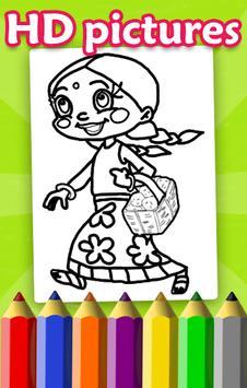 Chhota Coloring Book for Bheem screenshot 2