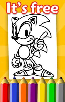 Boom Coloring Book for Sonic screenshot 4