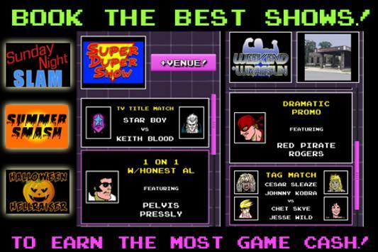 80s Mania Wrestling apk screenshot