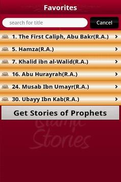 Stories of Sahabas in Islam apk screenshot