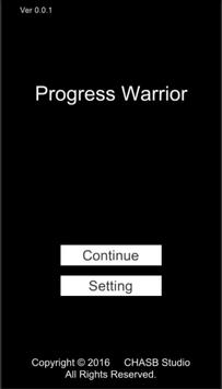 Progress Warrior poster