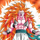 power dragon super saiyan z goku ssj fight battle icon