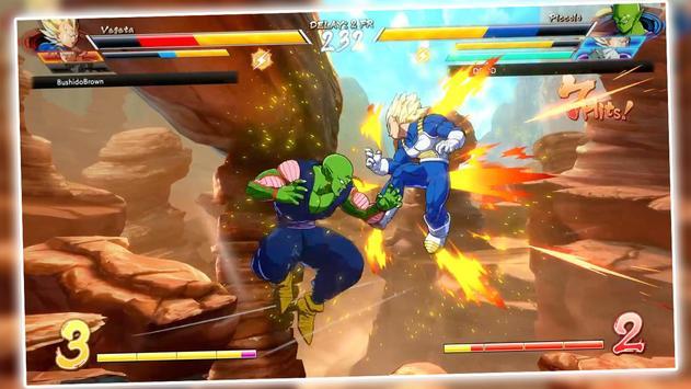 power dragon super saiyan z goku ssj fight battle poster