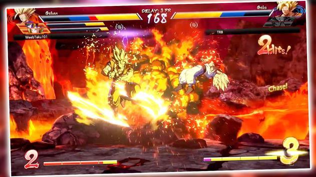 power dragon super saiyan z goku ssj fight battle screenshot 1