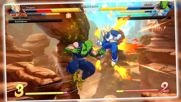 power dragon super saiyan z goku ssj fight battle screenshot 3