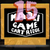 Maxi 15 Game NES Cartridge icon