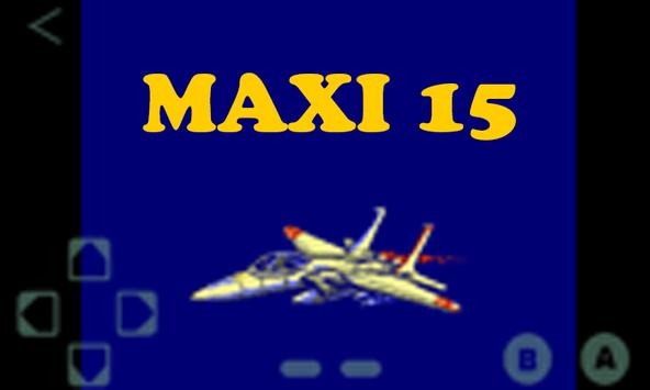 Maxi 15 Game NES Cartridge screenshot 1