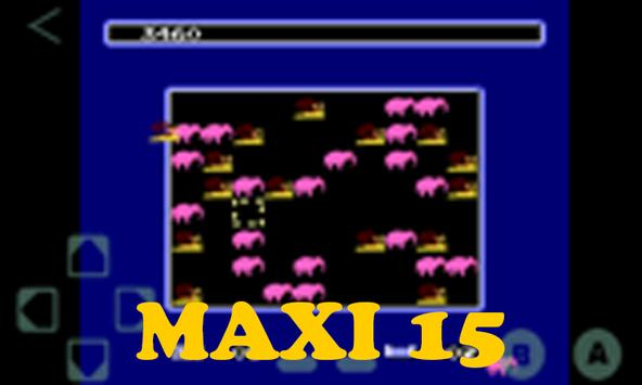 Maxi 15 Game NES Cartridge screenshot 2