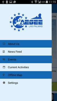 AEGEE-Las Palmas apk screenshot