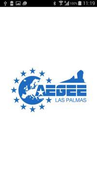 AEGEE-Las Palmas poster