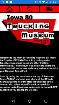 Iowa 80 Trucking Museum poster