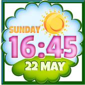 Clock Weather Widget icon