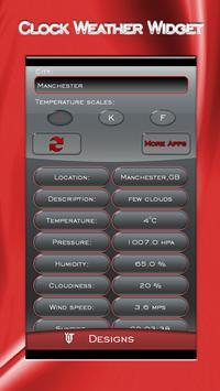 Clock Weather Widget poster