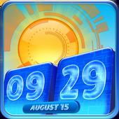 Digital Clock Weather Widget icon
