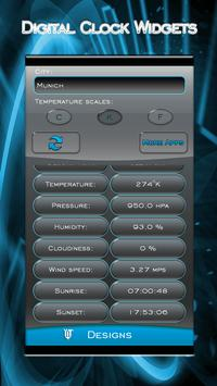 Digital Clock Widgets apk screenshot