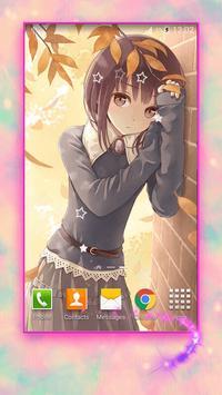 Cute Anime Girls Wallpapers Screenshot 6