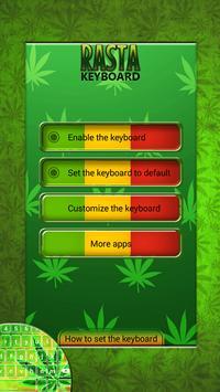 Rasta Keyboard Themes poster
