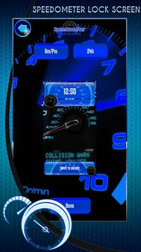 Speedometer Lock Screen screenshot 1