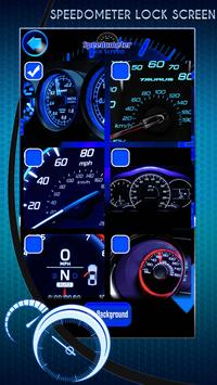 Speedometer Lock Screen screenshot 2