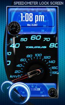 Speedometer Lock Screen screenshot 4