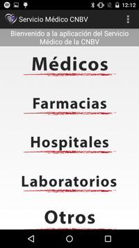 Servicio Médico CNBV screenshot 1