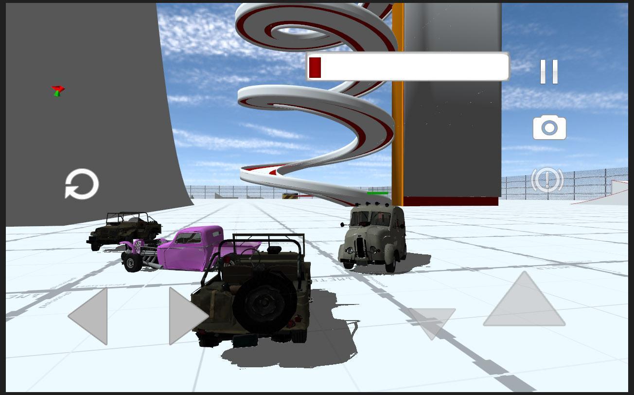 Classic Car Crash Simulator For Android