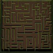 Maze VR for google cardboard icon