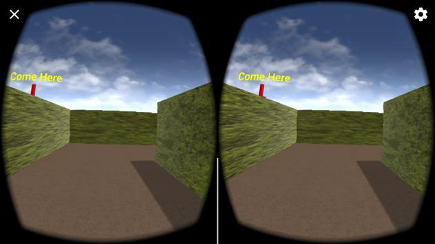 Maze VR for google cardboard poster