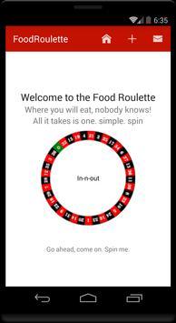 Food Roulette apk screenshot