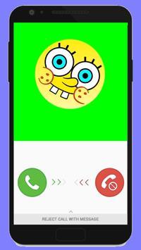 أجب بسرعة سبونج بوب يتصل بك apk screenshot