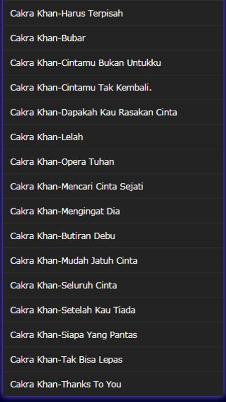Cakra khan | reverbnation.