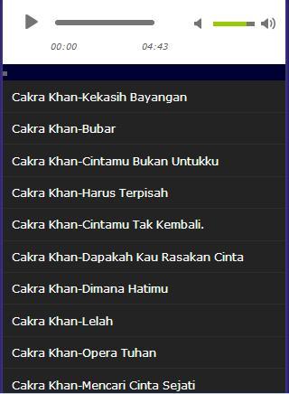 Cakra Khan Shadow Lover Mp3 Fur Android Apk Herunterladen
