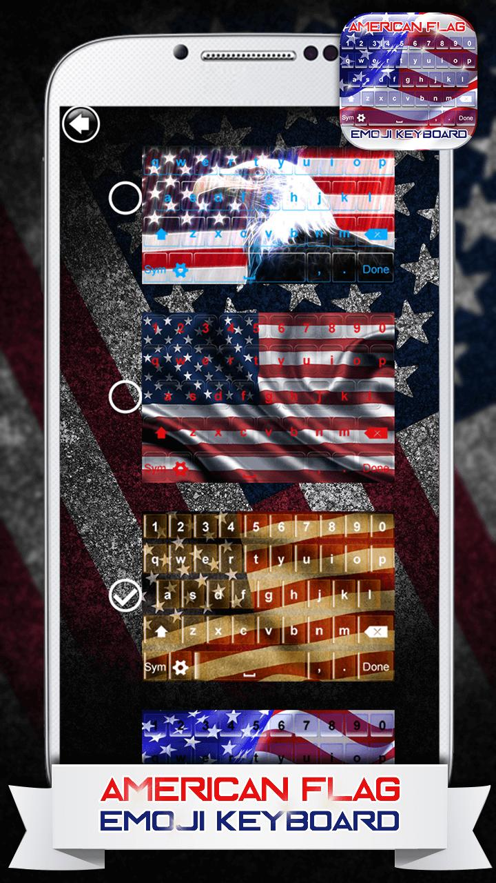 American Flag Emoji Keyboard for Android - APK Download
