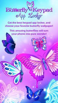 Butterfly Keypad App Locker poster