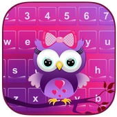 Cute Owl Emoji Keyboard icon