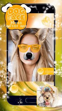 Dog Face Photo Editor App poster