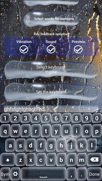 Evening Rain Keyboard Themes screenshot 6