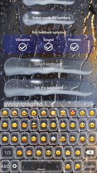 Evening Rain Keyboard Themes apk screenshot