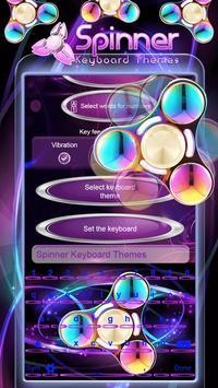 Spinner Keyboard Themes screenshot 2