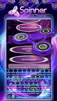 Spinner Keyboard Themes screenshot 4