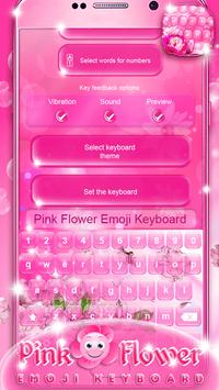 Pink flower emoji keyboard apk download free lifestyle app for pink flower emoji keyboard apk screenshot mightylinksfo