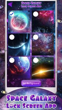 Space Galaxy Lock Screen App screenshot 5