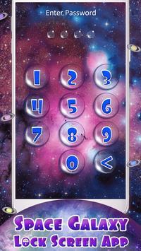 Space Galaxy Lock Screen App screenshot 6