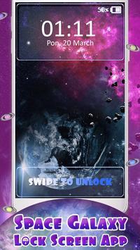 Space Galaxy Lock Screen App screenshot 3
