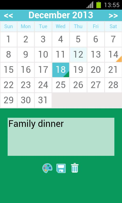 free monthly calendar app for Android - APK Download