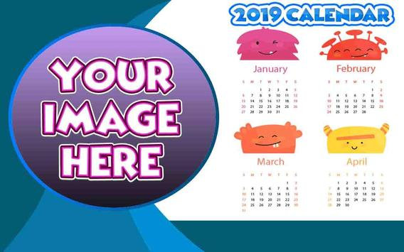 Calendar Frames 2019 poster