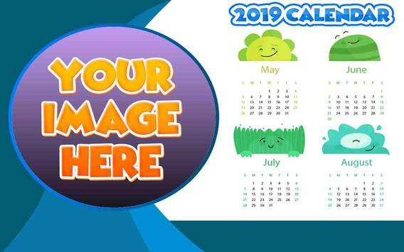 Calendar Frames 2019 apk screenshot