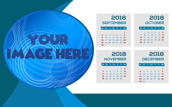 Calendar Frames 2018 apk screenshot